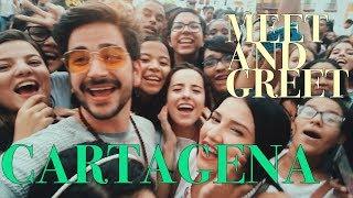 CARTAGENA y MEET AND GREET - Camilo y Evaluna