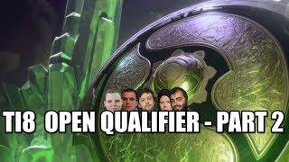 The International 2018 Open Qualifier #2 with EGM, Gorgc, Garter and Lizzard