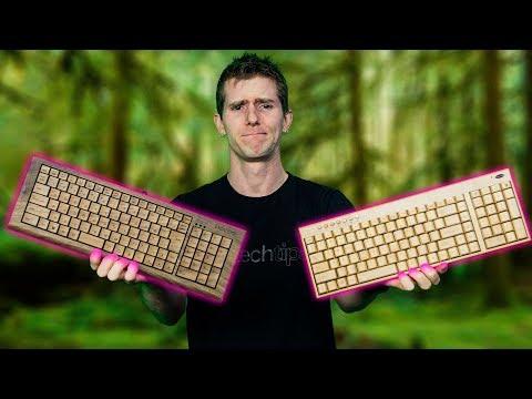 1 400 Wooden Keyboard vs. a 40 one