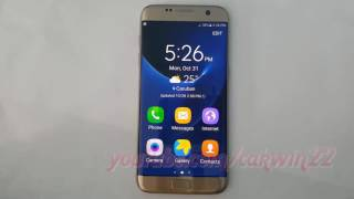 Samsung Galaxy S7 Edge : How to add or delete Easy mode shortcut (Android Marshmallow)