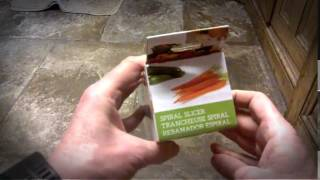 Kuuk 2 in 1 Vegetable Spiral Slicer