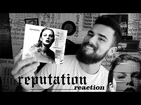 TAYLOR SWIFT - REPUTATION | ALBUM REACTION  REACCIÓN + UNBOXING | MR.GEORGE