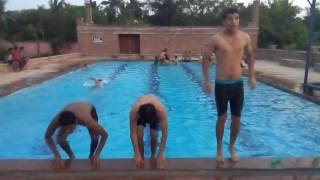 how to make back flip in swimming 3gp