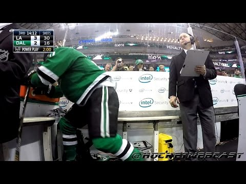 Antoine Roussel Furious in the Penalty Box - Oct 20, 2016 (1080p - 60 FPS)