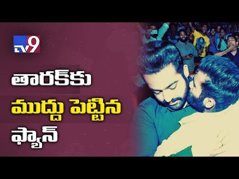 Xxx Mp4 NTR Hugged Kissed By Fan Jai Lava Kusa Trailer Day Event TV9 3gp Sex