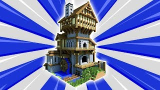 Minecraft Tutorial: How To Make A Big Mansion | Survival House (2018)