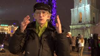 Happy New Year-2018 from Dr Victor Fursov in Kiev, Ukraine