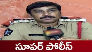 This Video of Eluru Police CI,Counselling a 7th Class Kid Driving Bike is Winning the Internet