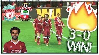 Liverpool v Southampton VLOG! ⚽️  MO SALAH WONDER GOAL! 🔴  ⚪️  (3-0)