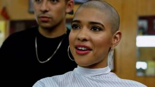 sexy buzzcut of a beautiful lady  from XFINITY TV Commercial