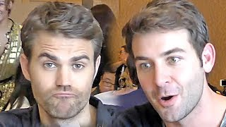 Tell Me A Story - Paul Wesley & James Wolk - Exclusive #SDCC interview (2018)