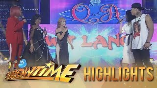 It's Showtime Miss Q & A: Vice and Miss Q & A candidates fight over Zeus