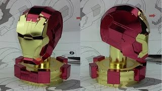 Metal Earth Build - Iron Man Mark XLV Helmet