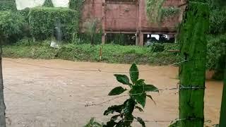 Chuva deixa moradores de Itabirito em alerta