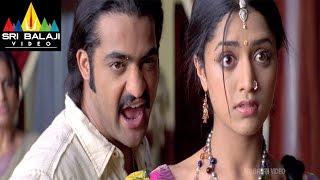 Yamadonga Movie Jr.NTR, Mamatha Mohan Das and Brammi Comedy | Jr NTR, Priyamani | Sri Balaji Video
