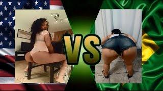 Brasileiras vs Americanas: Quem rebola melhor? (Brazilian vs American: Twerk)