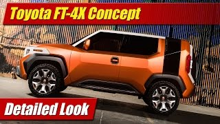 Toyota FT-4X Concept: Detailed Look