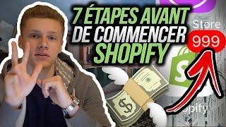 Les étapes Importantes Avant De Se Lancer Sur Shopify