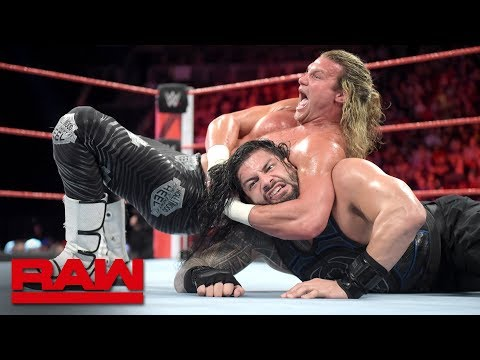 Xxx Mp4 Roman Reigns Vs Dolph Ziggler Raw Oct 1 2018 3gp Sex