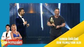 Gel Konuşalım | 31. Bölüm | Tarkan'a ödülünü veren Cem Yılmaz kahkahaya boğdu!