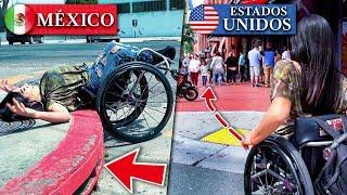 Cómo tratan a los discapacitados   México VS Estados Unidos