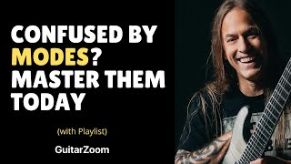 Confused by Modes? Master them TODAY (Steve Stine LIVE Guitar Lesson)