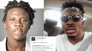 STONEBWOY Thinks SHATTA WALE Is Not Talented || Supports A Fan Who Believes So