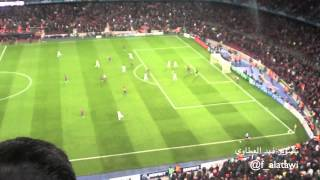 Barcelona vs Chelsea| Stadium footage: Torres goal + celebration