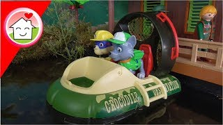 Playmobil Film - Paw Patrol deutsch - Kinderkino : das Krokodilproblem - Family Stories
