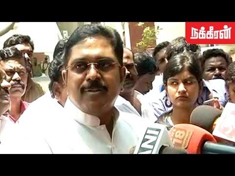 அதிமுகவிலிருந்து நேற்றே ஒதுங்கிவிட்டேன் TTV Dinakaran s Press Meet over Expelled Issue