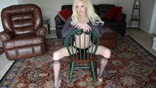 Dangling & Shoeplay: Knee High Pantyhose W/ Dangling Heels (Custom DVD)