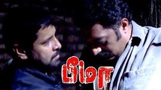 Bheema full movie scenes   Vikram rescues Prakash Raj   Bheema Interval scene   Trisha   Vikram