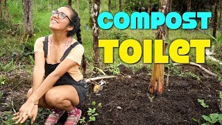 Emptying And Utilizing Our COMPOST TOILET After ONLY 3 MONTHS - Is This GROSS?