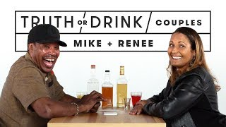 Couples Play Truth or Drink (Mike & Renee)   Truth or Drink   Cut