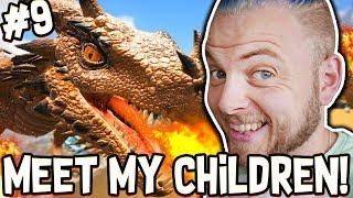 Ark: Ragnarok! - MEET MY CHILDREN!! [#9]  Ragnarok Gameplay 