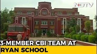 CBI, Forensics Team At Ryan School, Search For Clues In Pradyuman Murder