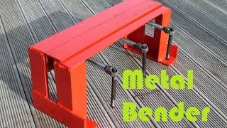 Basic Sheet Metal Bender