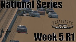 The Lady In Black - National Series @ Darlington - S1 W5 R1 2018 - IRacing