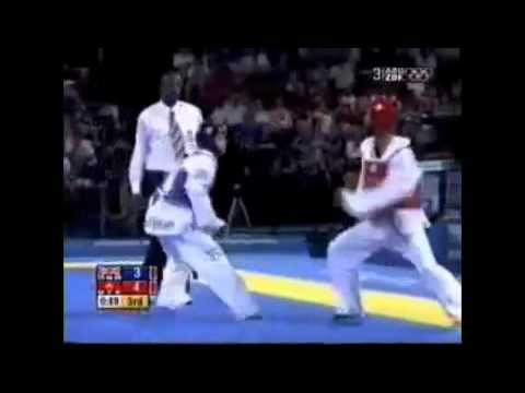 Olympic Tae Kwon do sparring