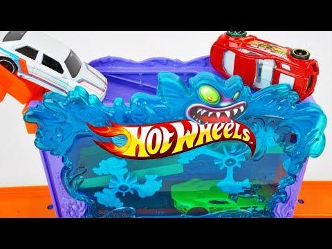 Xxx Mp4 New 2018 Hot Wheels City Downtown Aquarium Bash Escape The Giant Piranhas Track Playset 3gp Sex