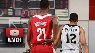 Andrew Wiggins #1 vs Jabari Parker #2 Full SL Duel Highlights 2014.07.11 Cavaliers vs Bucks