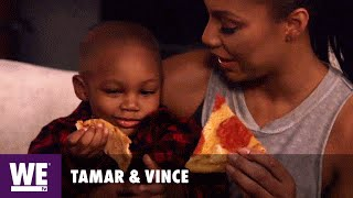 Tamar & Vince | Pizza Date Night | WE tv