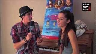 Ariana Grande talks Sam & Cat & 'A Snow White Christmas' w/ @RobertHerrera3