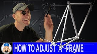 How to Adjust Spacing on a Bike Frame