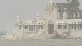 EID SPECIAL: Haji Ali Dargah rare video of Sinking in water