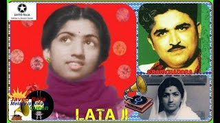 LATA JI:Film~SANGEETA~[1950]~Teri Gali Mein Koi Deewana Gaata Phhire~[ Great Sad Gem ]