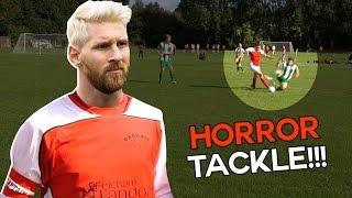 Shocking Horror Tackle 😱   Sunday League Messi