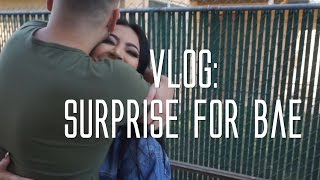 Vlog: Surprise for Bae.