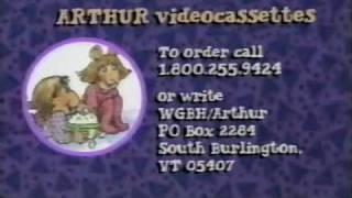 """ORIGINAL """"Arthur"""" TV Series Opening/Closing from 1996!!"""