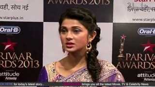 Red carpet - Star Parivaar Awards 2013